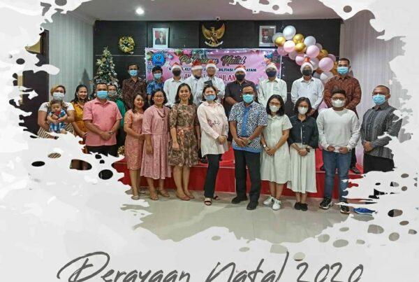 Perayaan Natal Bagi Klien dan Pegawai Loka Rehabilitasi BNN Batam