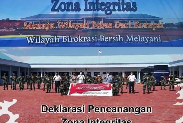 Deklarasi Pencanangan Zona Integritas LANUD Hang Nadim Batam