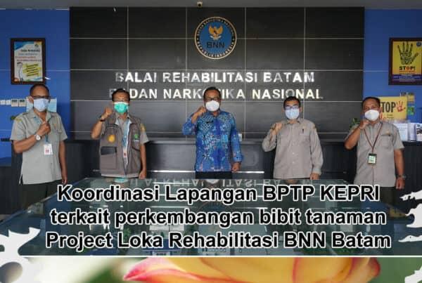 Kunjungan Balai Pengkajian Teknologi Pertanian (BPTP) Prov. Kepulauan Riau