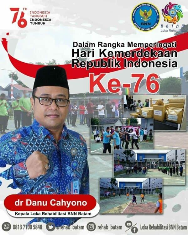 Rangkaian Kegiatan Memperingati HUT ke – 76 Republik Indonesia